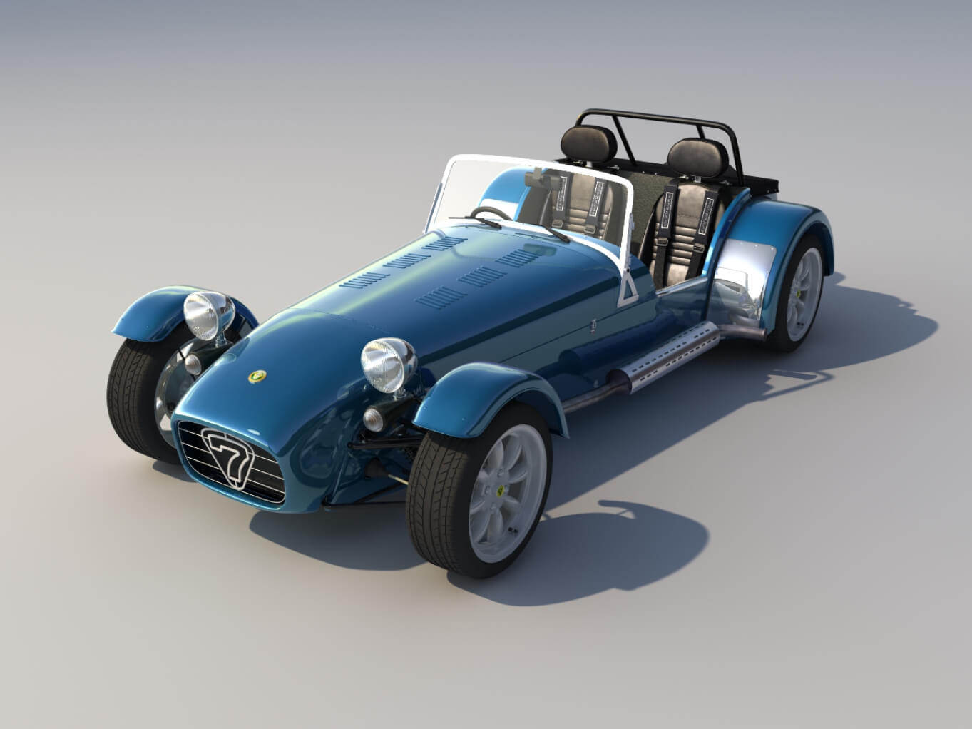 Caterham Car Study